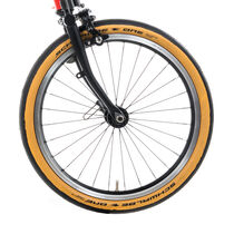 Brompton Scwalbe One Tan Wall Brompton Fit