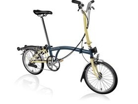 Brompton H6R Tempest Blue/Ivory