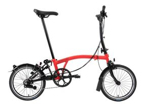 Brompton Black Edition M6R Rocket Red