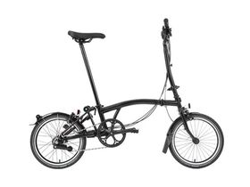 Brompton Black Edition H6R Gloss Black